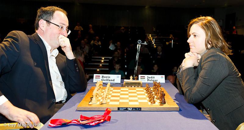 Round 1: Boris Gelfand vs Judit Polgar