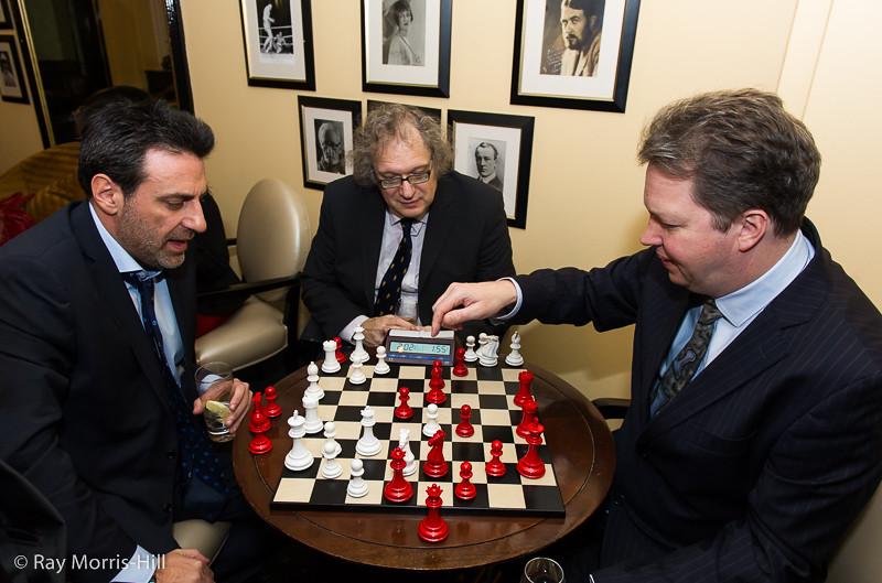 Ali Mortazavi, Jon Speelman and Nigel Short