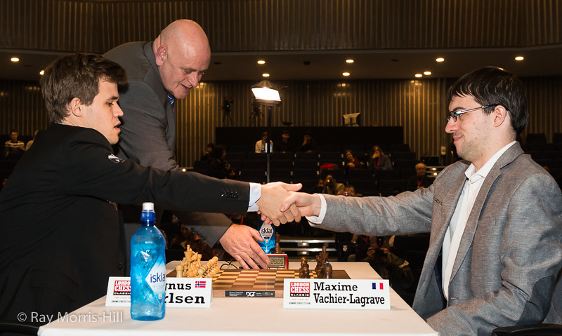 The play-off final - Magnus Carlsen vs Maxime Vachier-Lagrave