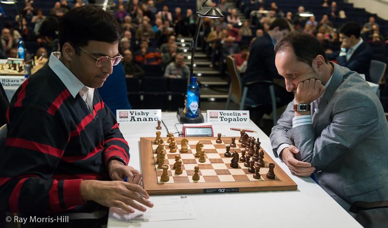 Round 5: Vishy Anand vs Veselin Topalov