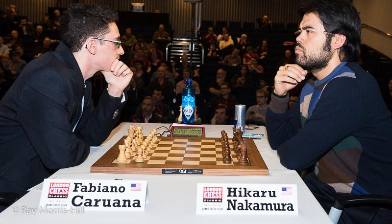 Round 3: Fabiano Caruana vs Hikaru Nakamura