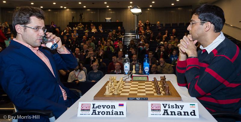 Round 2: Levon Aronian vs Vishy Anand