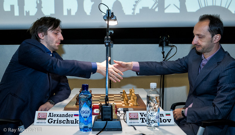 Round 2: Alexander Grischuk vs Veselin Topalov